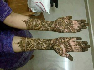 My First Mehendi Design