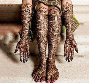 Peacock Passion Wedding Mehndi Design