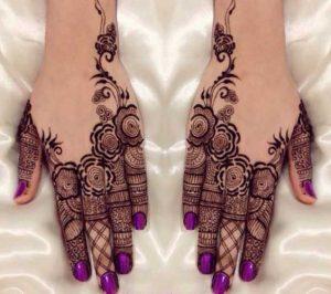 Best Fingers Mehendi Design