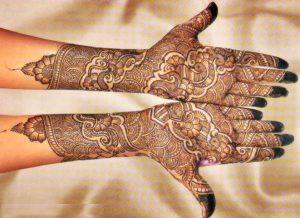 Best full hand mehendi design
