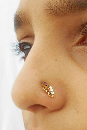 Indian style nose ring