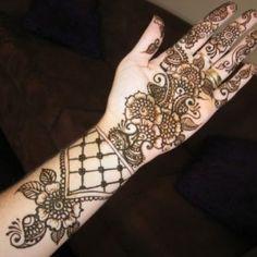Arabic Mehendi Design