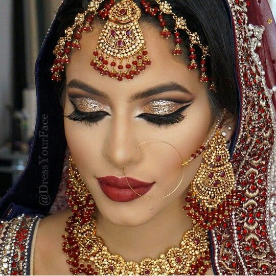 Indian Bridal Eye Makeup: Download Free Look To Impress All