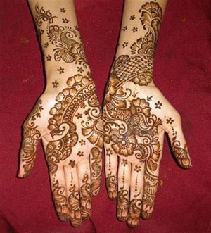 Arabic Henna Mehendi Design for Hands