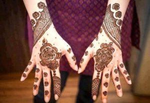 Gujarati Mehendi design