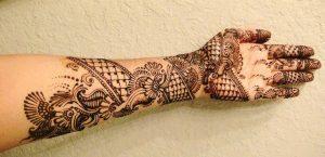 Beautiful henna mehendi design