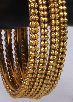 Traditional Bangles in Gold