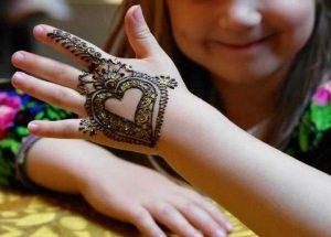 Kids Mehendi Design