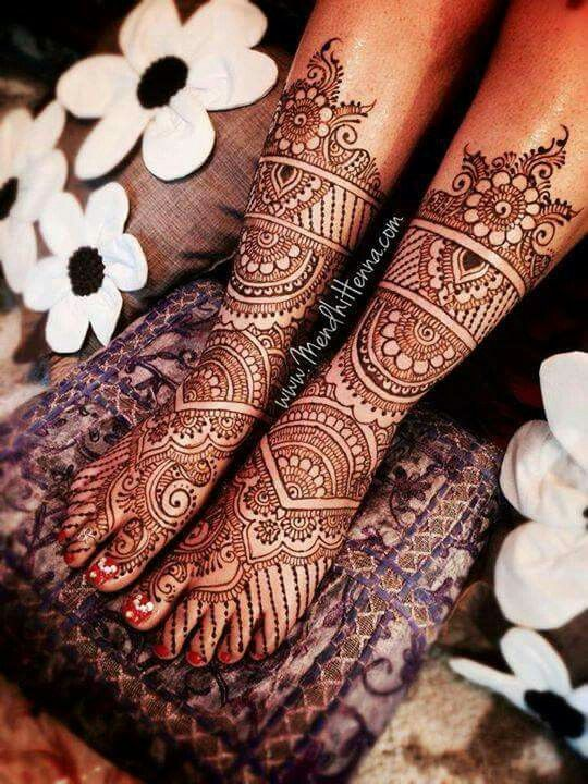 Bridal Mehendi Design for Foot Download Free Bridal
