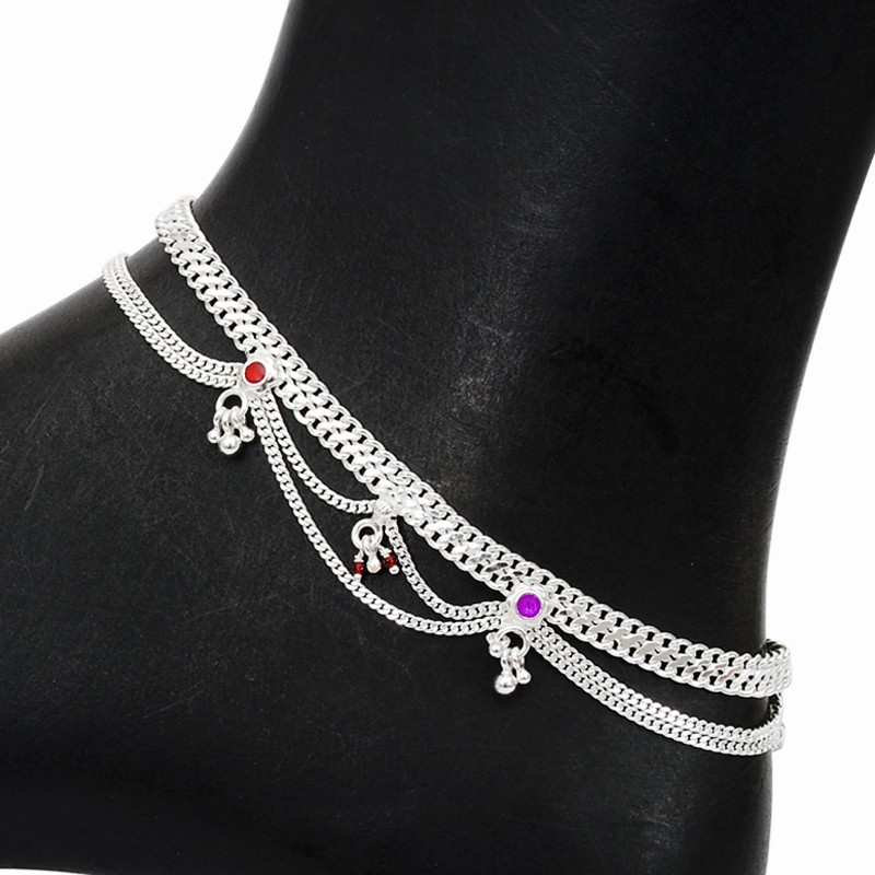 women from anklet jewelry link in and statement silver infinity ankle design charm beach gold anklets fashion barefoot wholesale chains product