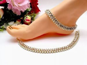 Indian Pearl Anklet