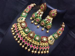 Designer Necklace for small functions