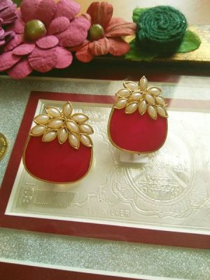 Fruit shaped beautiful earrings