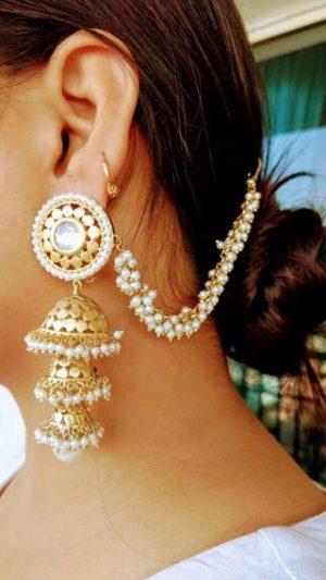 Latkan style earring