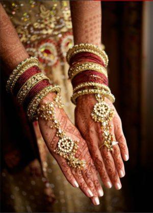Bridal full hand mehendi design