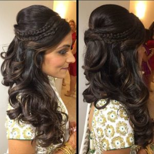 Ready for engagement – check hairstyle