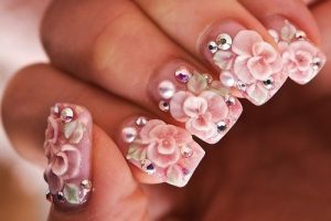 Beautiful natural nail art