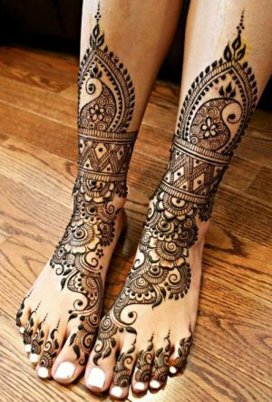 Beautiful mehndi design for my marriage