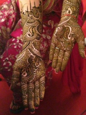 New Pakistani Style hand mehndi