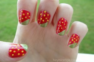 Cherry Stule nail art