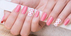 70's style nail art