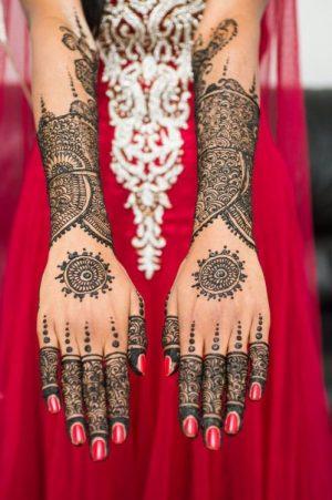Full hand bridal mehendi