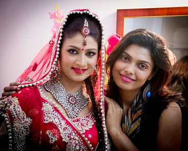 Minakshi Jaiswal-MJ-Professional Makeup Artist & Hair Stylist