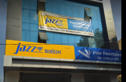 Jazz Up Salon Baner