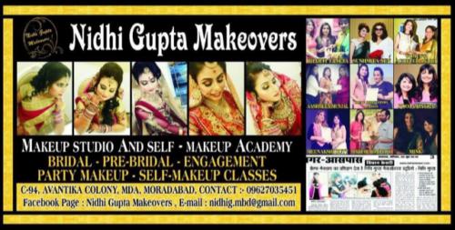 Nidhi Gupta makeovers