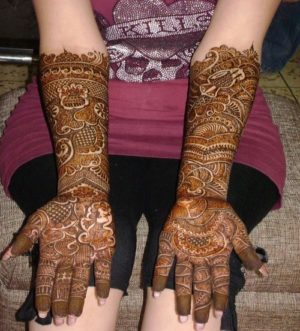 Bridal Mehendi Design for me