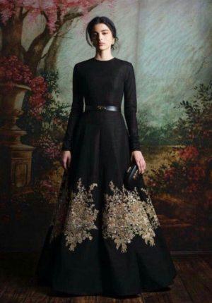 Leaf Design Full Gown