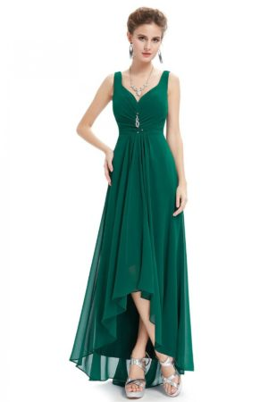 Green Bottom Design Gown
