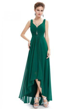 Green Bottom Design Gown