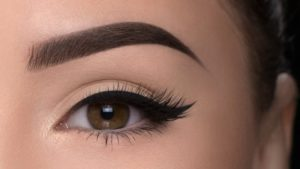 Simple with beautiful eye makeover