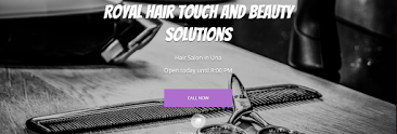 Royal hair touch and beauty solutions
