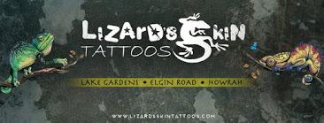 Lizard's Skin Tattoos