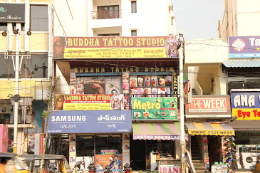 Buddha Tattoo Studio in Hyderabad