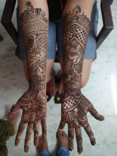 umesh mehandi art