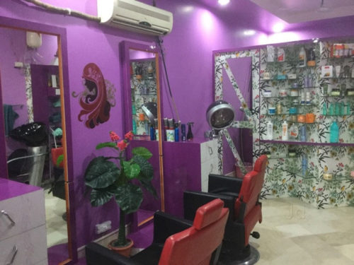Beauty art ladies beauty parlour