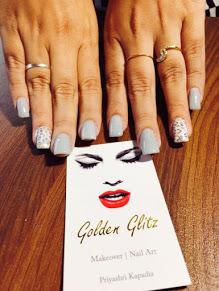 Golden Glitz Nail Art Studio