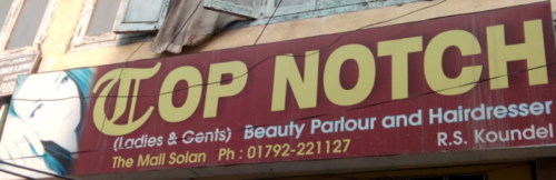 Top Notch Beauty Parlour and Hairdresser