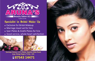 Aruna's beauty salon ( beauty parlour in trichy )