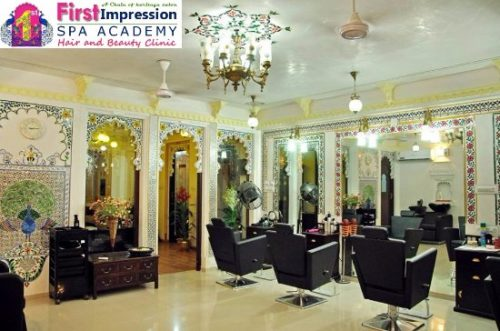 First Impression Heritage Salon | Best Bridal Makeup in Udaipur Makeover | Beauty Parlour in Udaipur