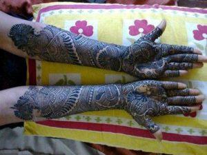 Rajasthani mehendi design
