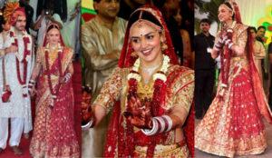 Bridal look with Maang tika