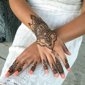 Beautiful Palm mehendi Design