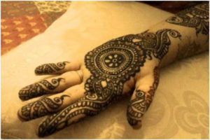 Iranian Bridal mehendi design