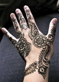 Dragon style Mehendi design