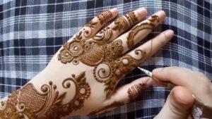 Arabic Lefonia style mehendi design