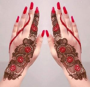 Top 10 Colorful Mehendi Designs